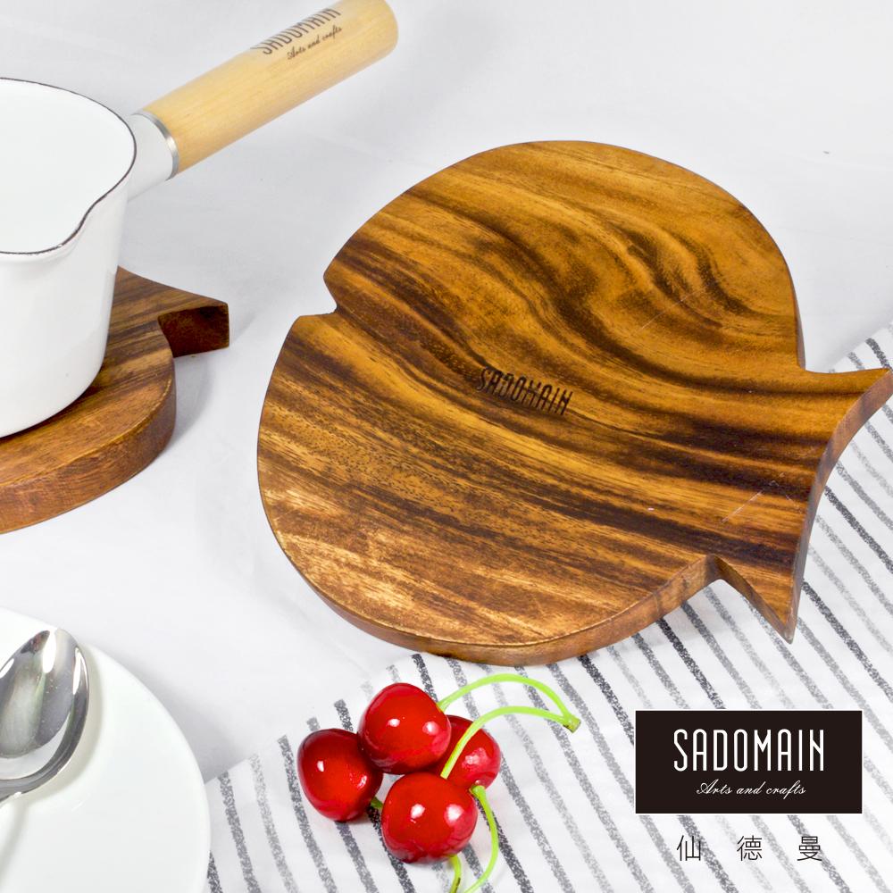 [買一送一] 仙德曼 SADOMAIN 魚形洋槐原木餐具鍋墊