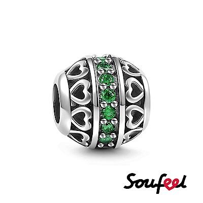 SOUFEEL索菲爾 925純銀珠飾 生日石 五月 串珠