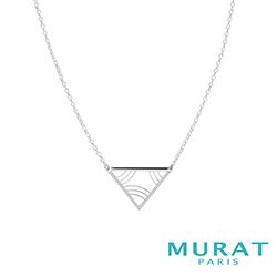 MURAT Paris米哈巴黎 優雅曲線三角項鍊