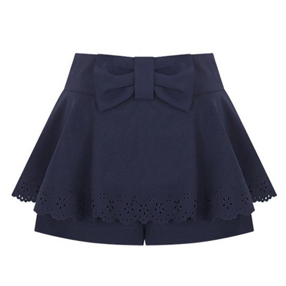 【Sweet Dress】百搭時尚荷葉邊假兩件裙褲(共二色)