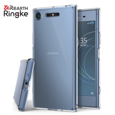 RINGKE Sony Xperia XZ1 Fusion 透明背蓋防撞手機殼