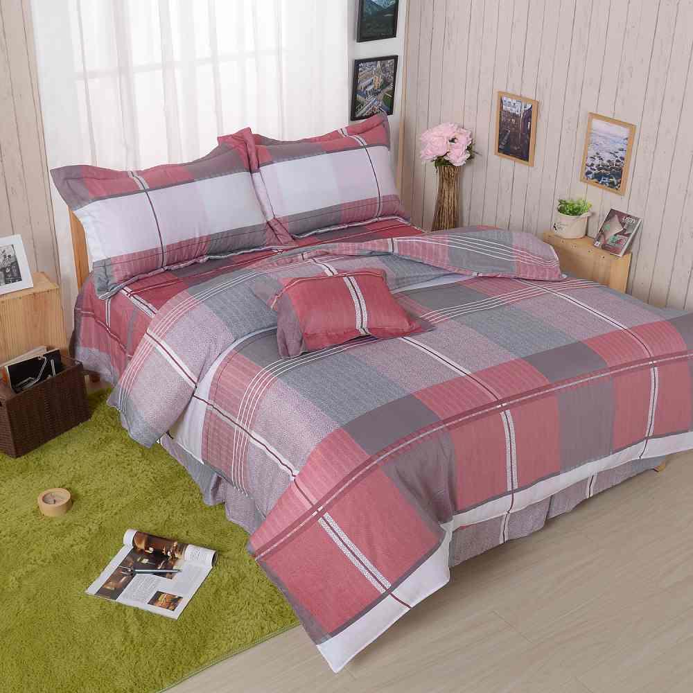 BARNITE格情空間 舒爽天絲五件式中式寢具組-雙人