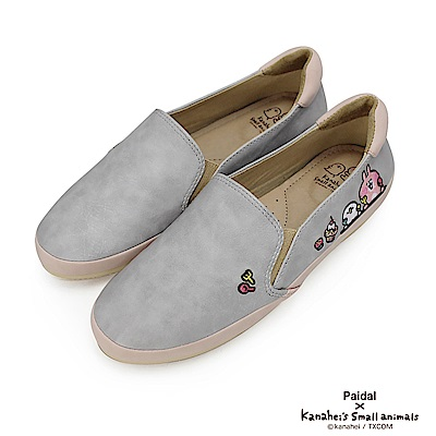 Paidal x 卡娜赫拉的小動物 - 午茶皮感休閒鞋樂福鞋