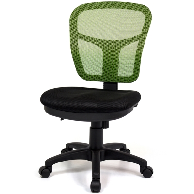 aaronation愛倫國度 耐用型舒適透氣小秘書電腦椅 i-RS-170TG