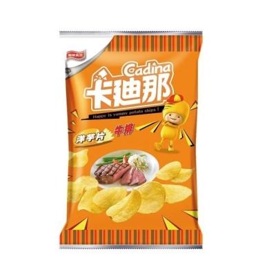 卡迪那 洋芋片-牛排(45gx12包)