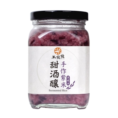 台灣米發發 紫米甜酒釀(300g)