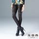 法蘭蒂娜  網紗金屬蛇紋造型合身褲