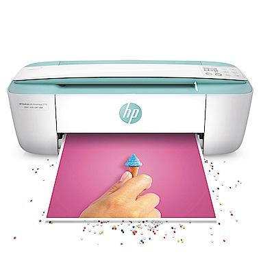 HP DeskJet 3721 彩色無線 WiFi 三合一噴墨印表機