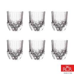 義大利RCR艾莉爾無鉛水晶威士忌杯 (6入)350cc(8H)
