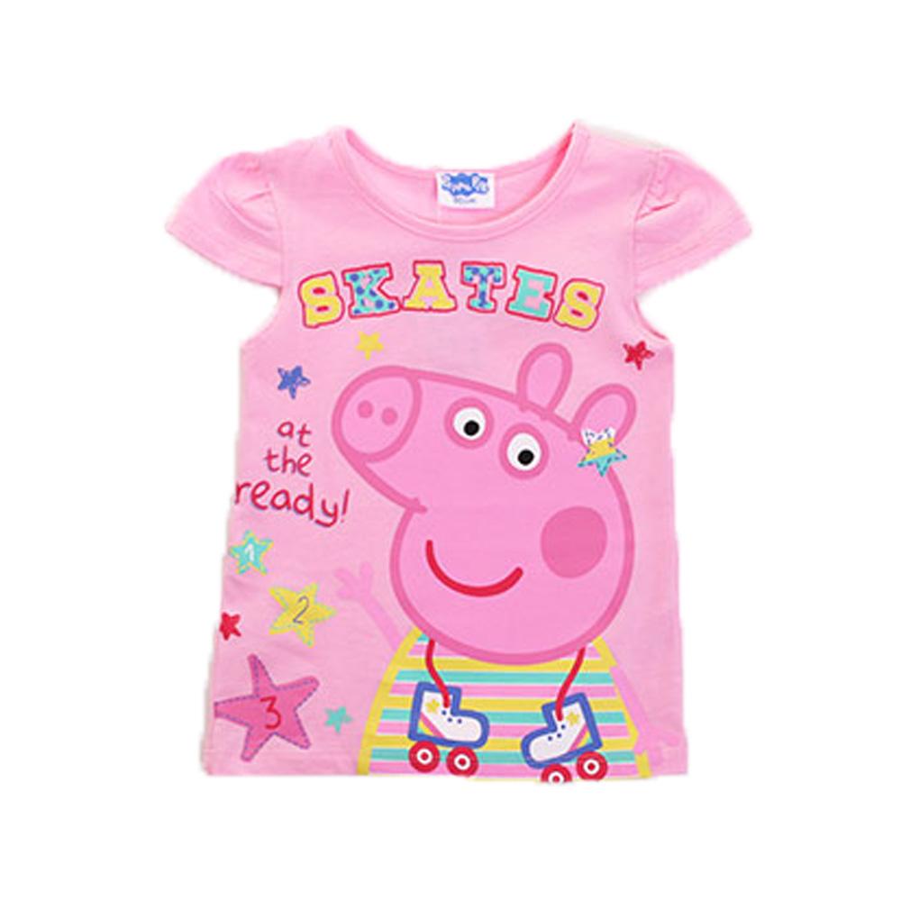 粉紅豬小妹短袖T恤 k50109