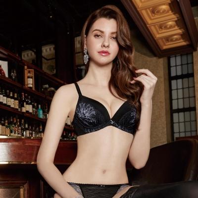 曼黛瑪璉  Marie One 蕾絲內衣  B-E罩杯(黑)
