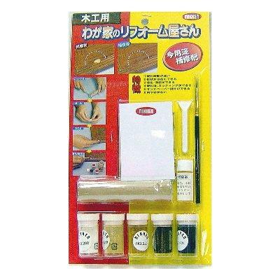 日本Nikken木器缺損/凹洞超強固補修全組