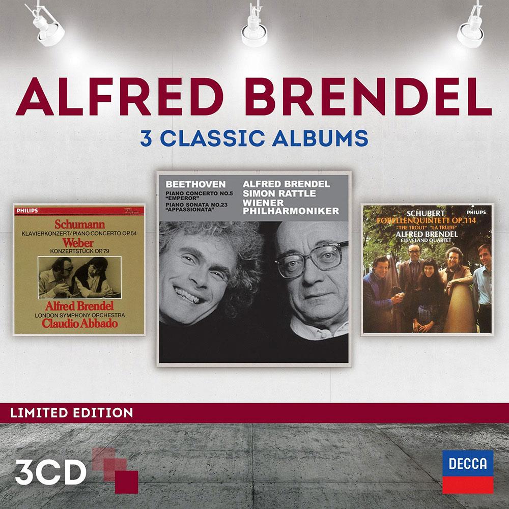 布蘭德爾/三大經典錄音(3CD)