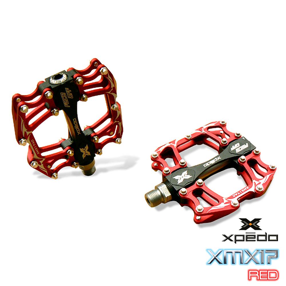 《XPEDO XMX17》多功能鋁合金造型踏板(紅)