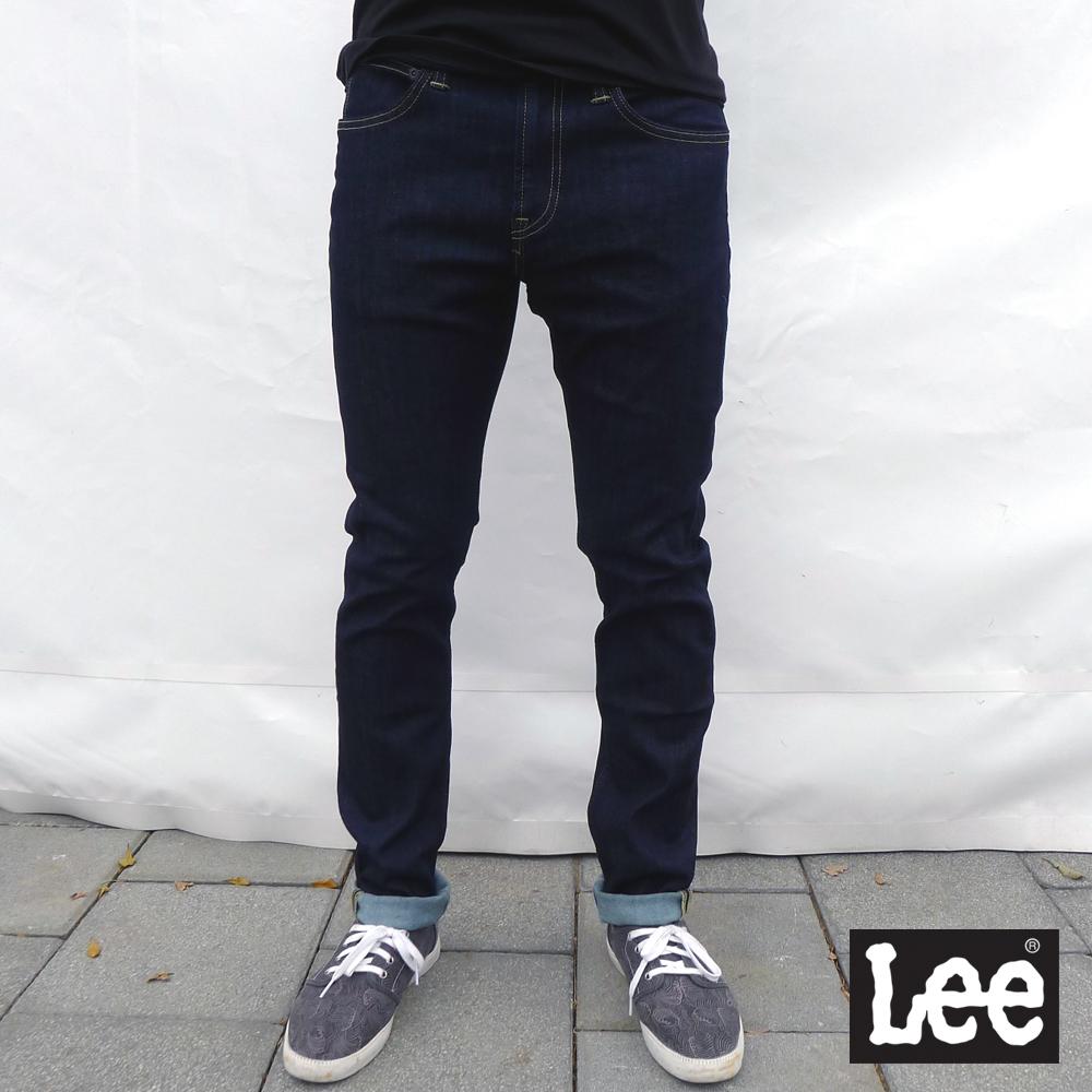Lee 牛仔褲 706 低腰合身小直筒-男款-原藍