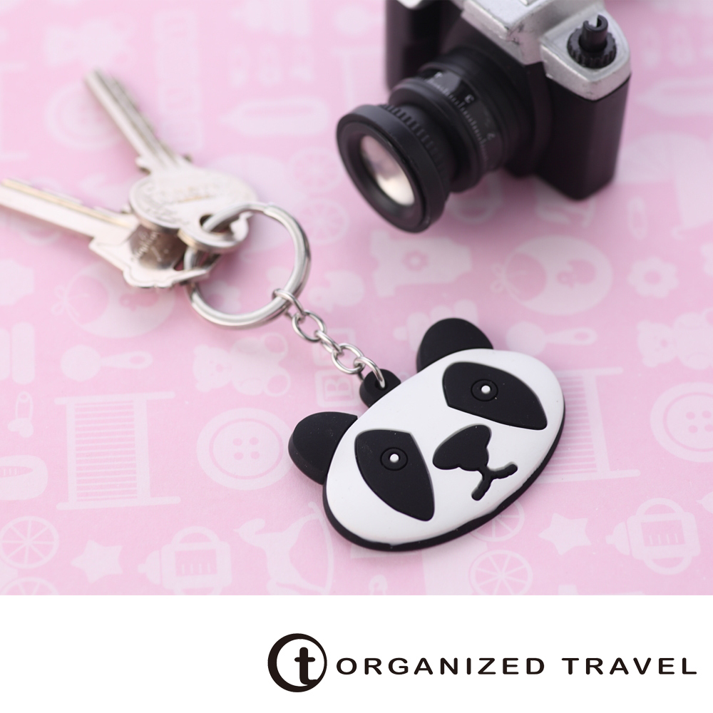 Organized Travel-動物鑰匙圈-熊貓