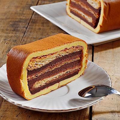 法藍四季 拿破崙派蛋糕 任選1條(楓糖/魔岩;350g/條)