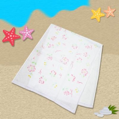 日本製粉花麻紗長巾34*85cm