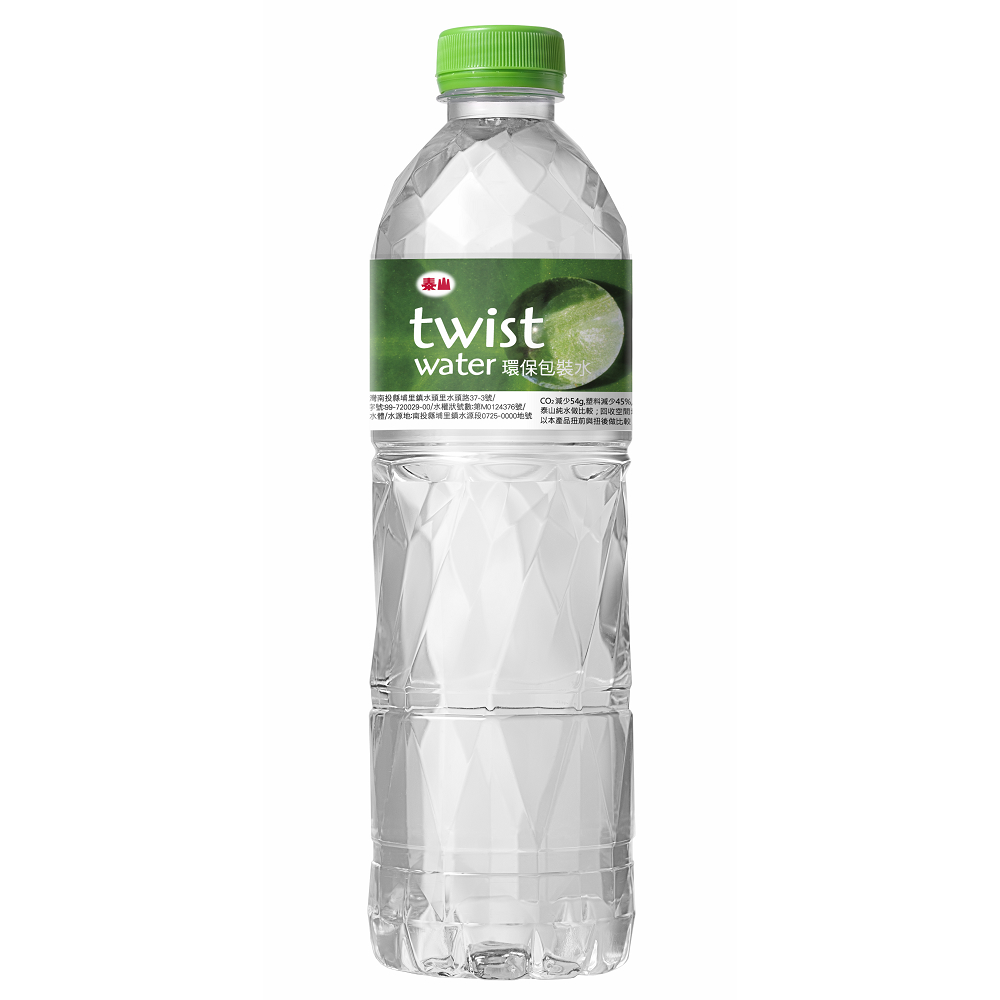 泰山 Twist Weter環保包裝水(600mlx24入)