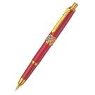 BURBERRY經典格紋金屬飾邊自動鉛筆-紅/藍色