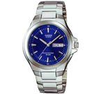 CASIO 經典復古型指針紳士錶(MTP-1228D-2A)-藍