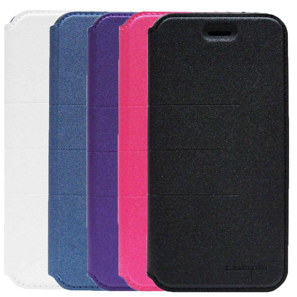 LUGAM iPhone6  4.7吋芒果無扣側翻式皮套