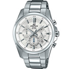 EDIFICE 非凡質感計時腕錶(EFR-560D-7)白面X銀43.7mm