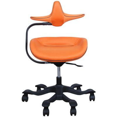 iPole7人體工學椅-優質OA布-活力橘