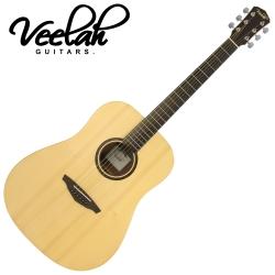 VEELAH V1-D 民謠木吉他 原木色款