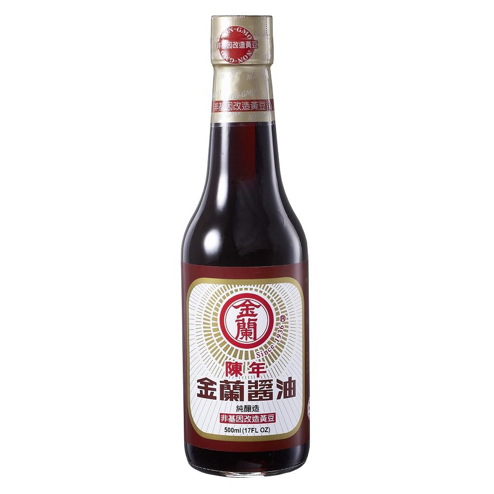 金蘭 陳年醬油(500ml)