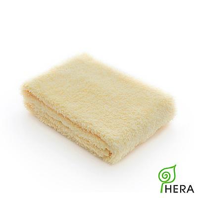HERA 3M專利瞬吸快乾抗菌超柔纖-洗臉巾-奶油黃