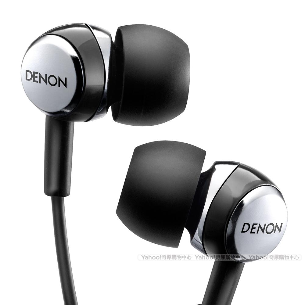 天龍 DENON AH-C260 In-Ear Headphone 耳道耳機 時尚黑