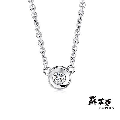 蘇菲亞SOPHIA 鑽石項鍊-小可愛0.05克拉鑽鍊