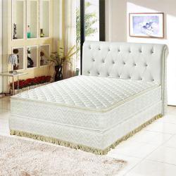 Ally愛麗 正三線-乳膠3M防潑水透氣涼蓆護背床墊-雙人5尺