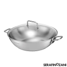 SERAFINO ZANI 尚尼 - SYDNEY系列雙耳不鏽鋼炒鍋 34cm