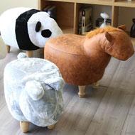 HAPPY動物造型椅凳