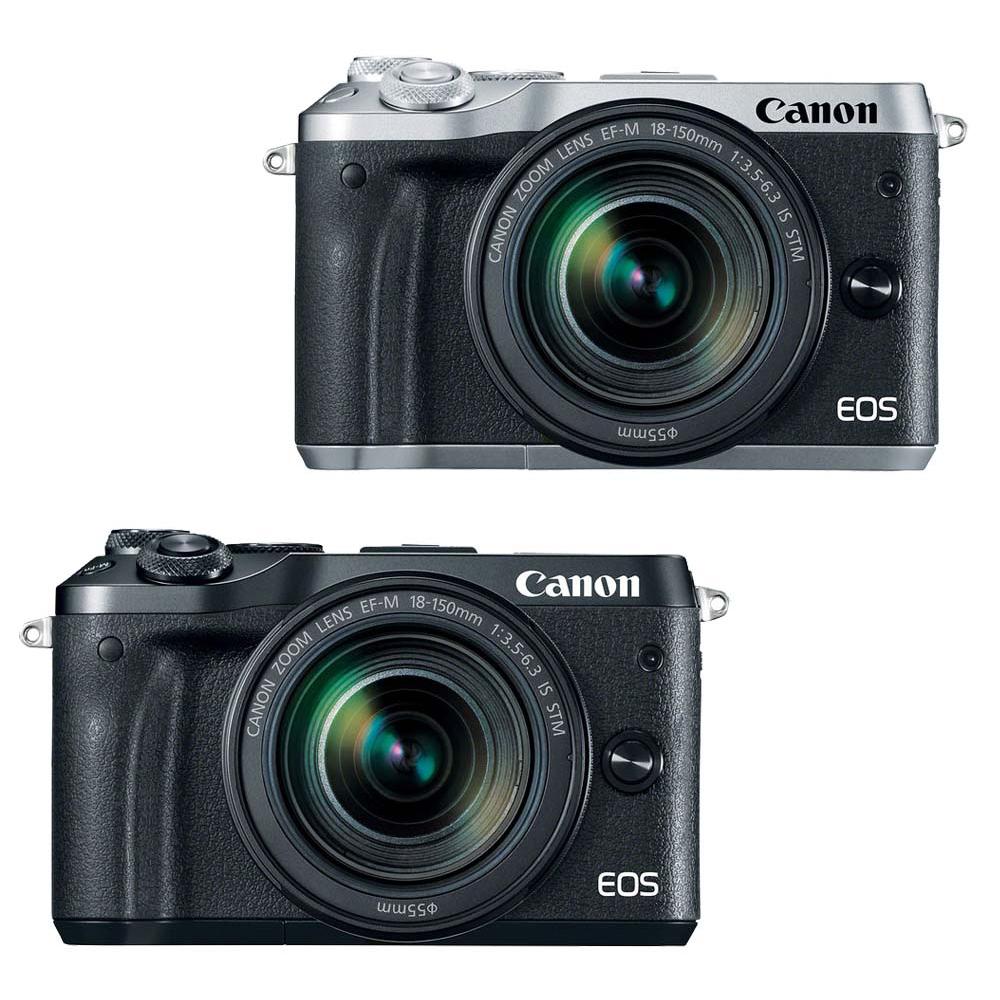 CANON EOS M6+M18-150mm IS STM 單鏡組*(中文平輸)