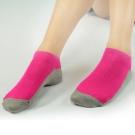 源之氣 竹炭鮮彩船型襪/男女共用 6雙組(桃紅/綠/黃/橘) RM-30008