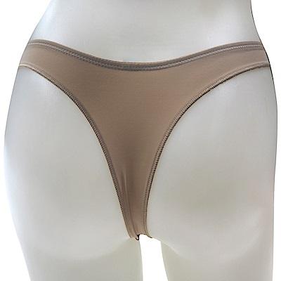 思薇爾 PANS BRA 秘密感系列全素面S-L低腰丁字褲(膚色)