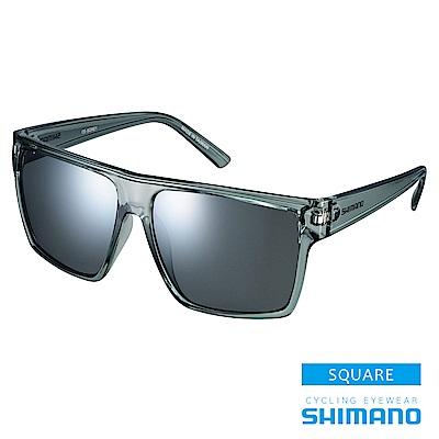 SHIMANO SQUARE 休閒太陽眼鏡 透明灰