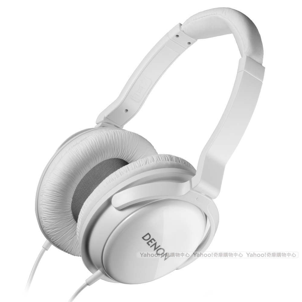 DENON AH-D310 Over-Ear Headphone 耳罩耳機 冰晶白