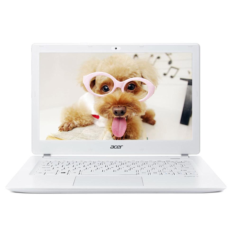 Acer Aspire V3-371 13.3吋FHD4代i5美型輕薄筆電-白(1TB大容量)