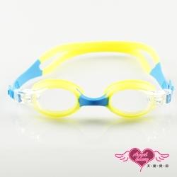天使霓裳 FUN暑假 兒童泳鏡戲水必備(277-黃F)
