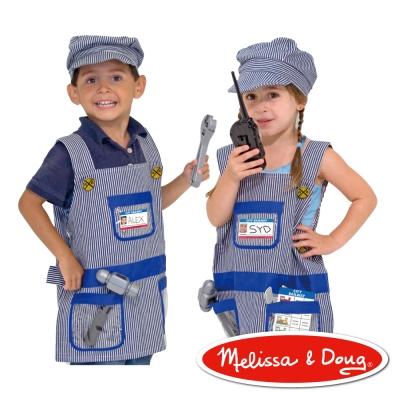 美國瑪莉莎 Melissa & Doug 角色扮演 - 火車維修服遊戲組