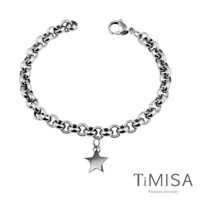 TiMISA《幸運風之戀》純鈦手鍊(M)
