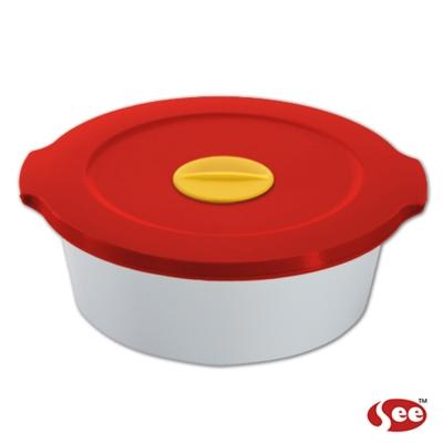 Breere 會呼吸的保鮮盒480ml圓形款(4色)