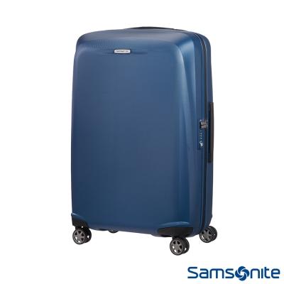 Samsonite新秀麗 25吋Starfire飛機輪TSA防刮耐磨PC行李箱(藍)
