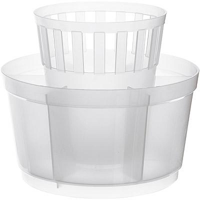 EXCELSA 七格餐具瀝水筒(白)