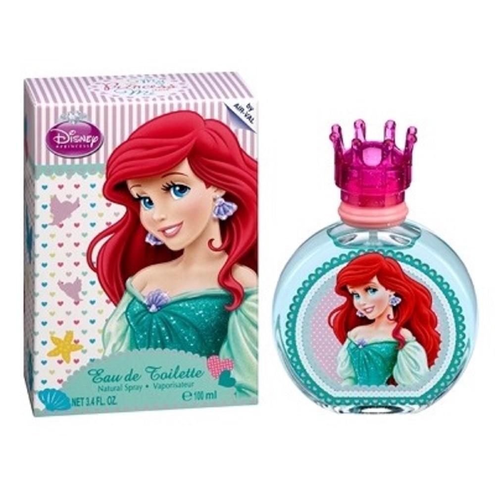 Disney 迪士尼 小美人魚艾芮兒女性淡香水100ml【贈】同品牌小香隨機款*1