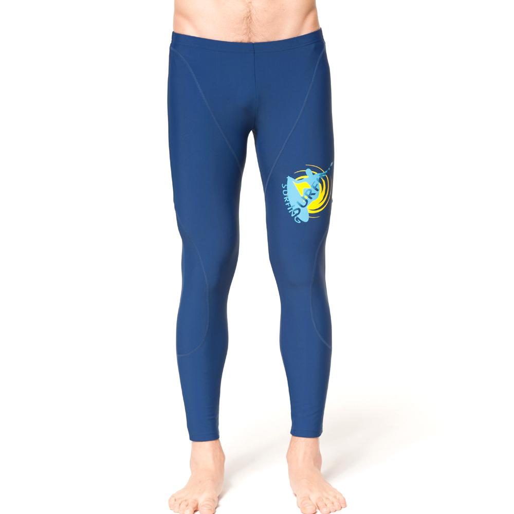 泳裝 水母褲 深藍色系水母泳褲 聖手牌